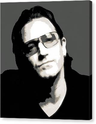 Bono Poster Canvas Print by Dan Sproul