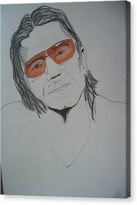 Bono Vox Canvas Print