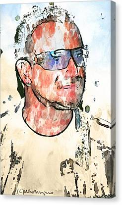 Bono Vox. Canvas Print