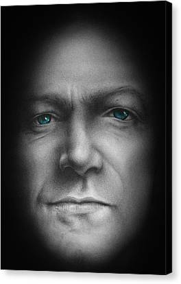 Bono - We Live In One World Canvas Print by David Oakley