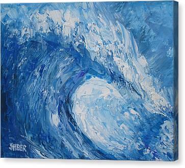 Bonsai Wave Canvas Print