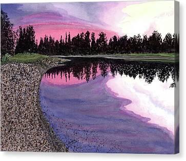 Bonsette's Sunset Canvas Print