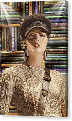 Book Police Canvas Print by Chuck Staley