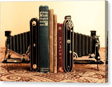 Bookends Canvas Print by Jon Woodhams