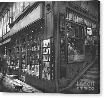 Bookstore Canvas Print