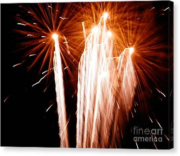 Canvas Print featuring the digital art Boom Boom by Angelia Hodges Clay