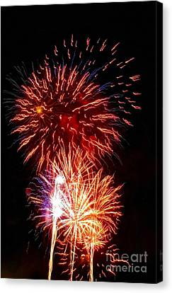 Boom Boom Out Go The Lights Canvas Print by Kip Krause