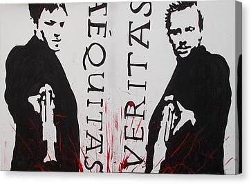 Boondock Saints Whole Canvas Print by Marisela Mungia