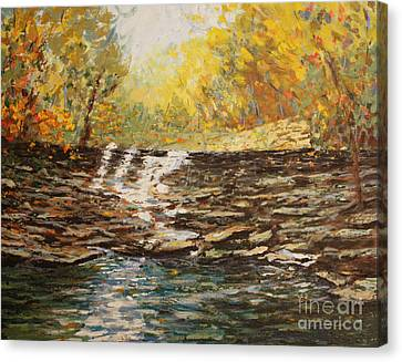 Boone County In Fall Canvas Print by Terri Maddin-Miller