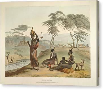 Boosh Wannah's Canvas Print by British Library