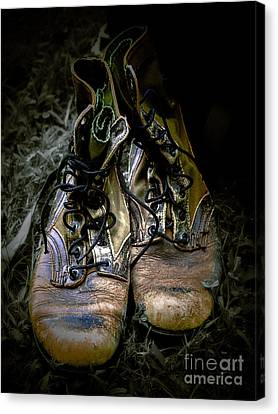 Boots That Grunt  Canvas Print by Steven Digman