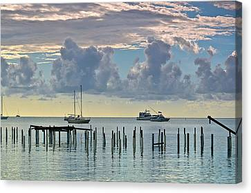 Canvas Print featuring the photograph Boqueron by Ricardo J Ruiz de Porras