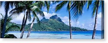 Bora Bora, Tahiti, Polynesia Canvas Print by Panoramic Images