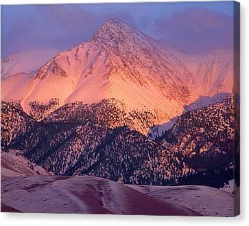 Borah Peak  Canvas Print