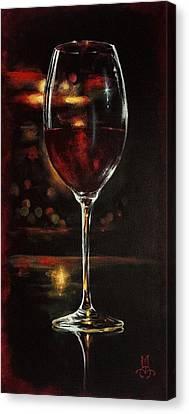 Bordeaux After The Show Canvas Print by Marco Antonio Aguilar