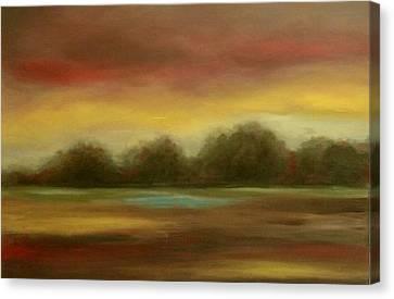 Bordeaux Rein Canvas Print by Rita Hassett