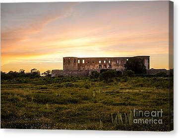 Borgholm Castle In Sweden Canvas Print