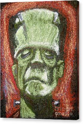 Boris Karloff Canvas Print by Seamus Corbett