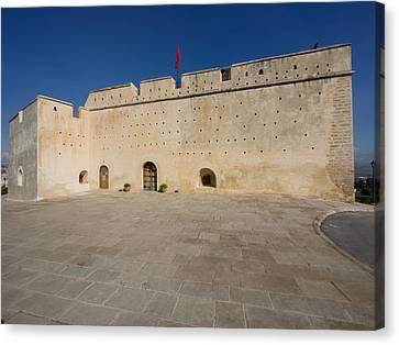 Borj Sud Built By Ahmad Al-mansur, Fes Canvas Print