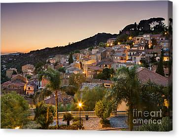 Bormes Les Mimosas Canvas Print by Rod McLean