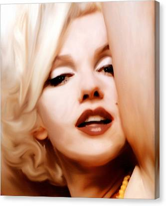 Born Blonde - Or Was She? Canvas Print
