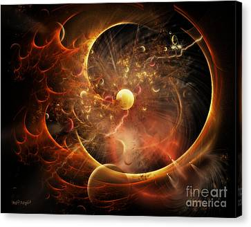 Born In The Vortex - The New Machine Canvas Print