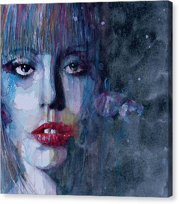 Gaga Canvas Print - Born This Way by Paul Lovering