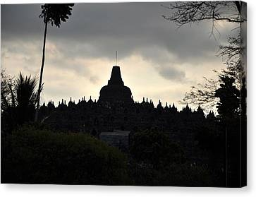 Borobudur Temple Canvas Print by Achmad Bachtiar