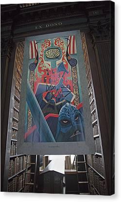 Tapestries - Textiles Canvas Print - Boru by Betsy Knapp
