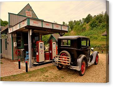 Bo's Gas 4 Canvas Print by Marty Koch