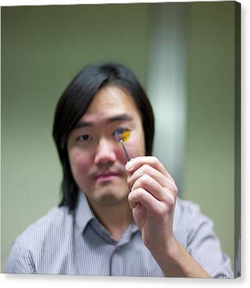 Bose-einstein Condensate Canvas Print by Ibm Research