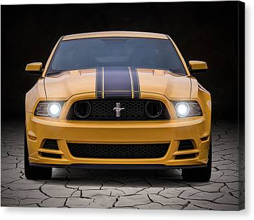 Horsepower Canvas Print - Boss 302 by Douglas Pittman