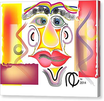 Boss Crazy Canvas Print