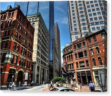 Boston 007 Canvas Print by Lance Vaughn