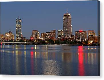 Charles River Canvas Print - Boston 2024 by Juergen Roth