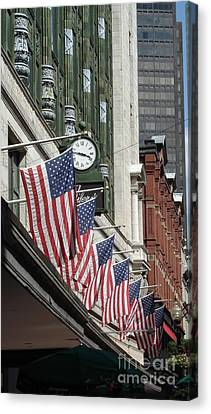 Boston 4th Of July Canvas Print by Kerri Mortenson