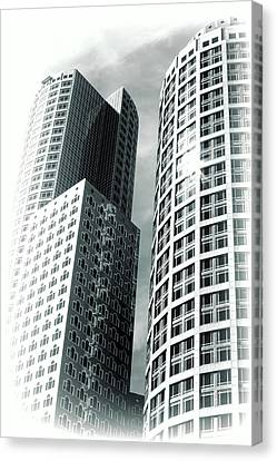Boston Architecture Canvas Print by Fred Larson