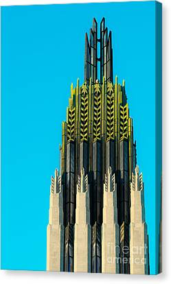 Boston Avenue Methodist Canvas Print by Sonja Quintero