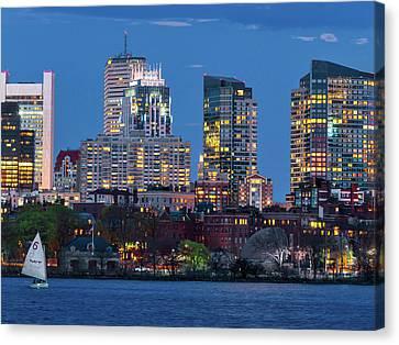 Boston Canvas Print by Babak Tafreshi