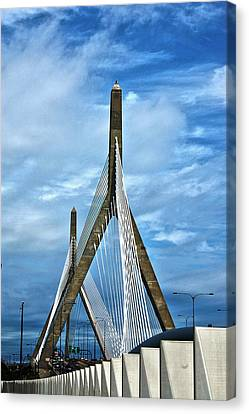 Boston Bridge Canvas Print by Melanie McKinney