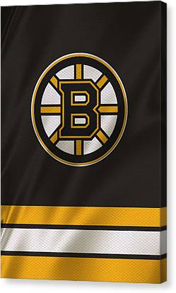 Boston Bruins Uniform Canvas Print by Joe Hamilton