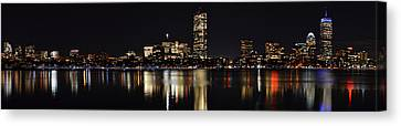 Boston Charles River Panorama Canvas Print by Toby McGuire