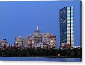 Charles River Canvas Print - Boston Charles River Skyline by Juergen Roth