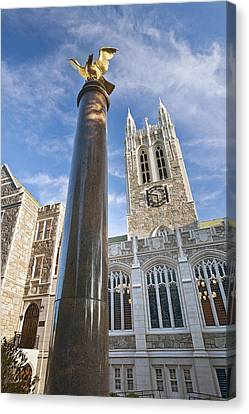 Boston Ma Canvas Print - Boston College Gasson Hall by Replay Photos
