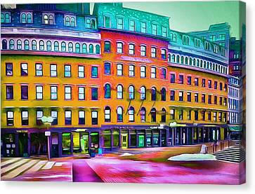 Boston Colors 1 Canvas Print by Yury Malkov