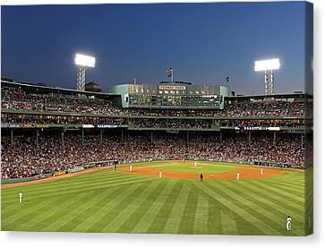 Boston Fenway Park And Red Sox Nation Canvas Print by Juergen Roth