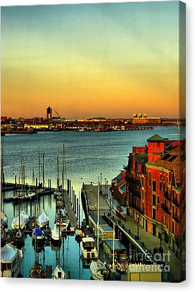 Boston Canvas Print by Jeff Breiman