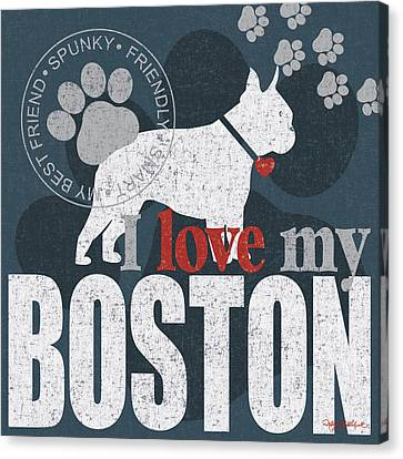 Breeder Canvas Print - Boston by Kathy Middlebrook