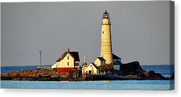 Boston Light Canvas Print
