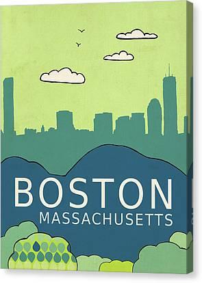 Boston Canvas Print by Lisa Barbero